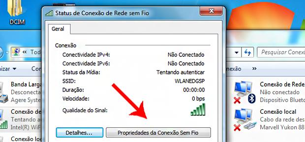 Como recuperar a senha do seu WiFi: passo 3 (Foto: Época NEGÓCIOS)