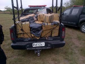 Drogas foram apreendidas na Ilha do Governador na tarde desta quinta-feira (6) (Foto: Divulgação/Bope)