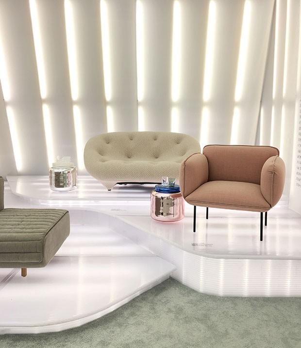 Exposição Comfort Zone mostra como design pode ser aliado ao bem estar (Foto: Michell Lott)