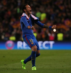 Neymar Barcelona x PSG (Foto: Reuters)