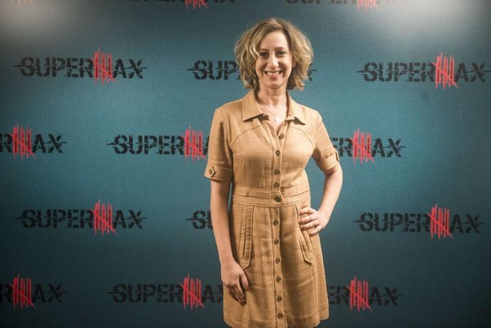 Fabiana Gugli interpreta Diana em 'Supermax' (Foto: Globo/Renato Rocha Miranda)