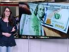 Dólar fecha em queda pelo 3º dia seguido e termina a semana em baixa