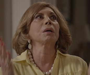 E depois fica desesperada (Foto: TV Globo)