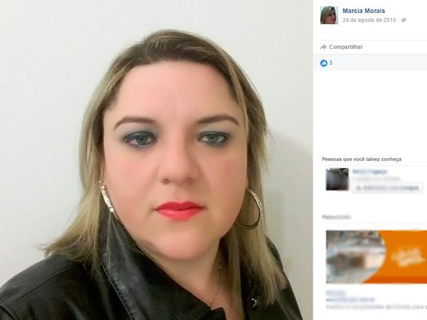 Márcia Regina Morais, perita do IGP morta em Caxias do Sul (Foto: Reprodução/Facebook)