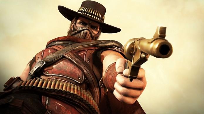 Erron Black aparenta ser o mais novo personagem revelado para Mortal Kombat X (Foto: Reprodução/Junkie Monkeys)