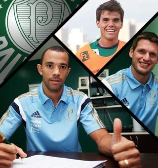 Carrossel Contratação Palmeiras (Foto: GloboEsporte.com)