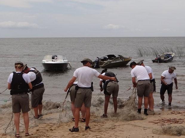 Redes de Pesca  (Foto: CABM/Divulgação)