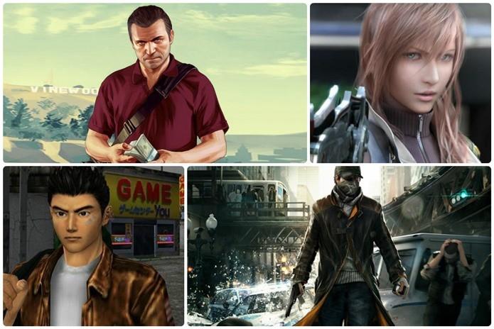 Lista reúne os jogos de maior orçamento da história (Foto: Montagem / Dario Coutinho)
