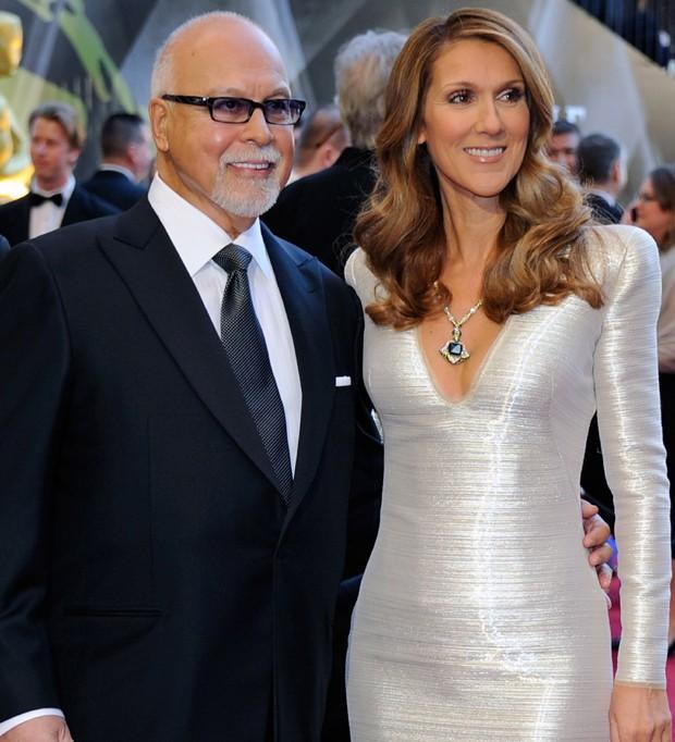 Rene Angelil e Celine Dion (Foto: Getty Images / Ethan Miller)