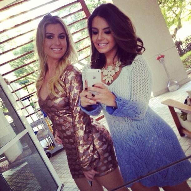 Fernanda Keulla e Giovanna Lancellotti (Foto: Reprodução / Instagram)