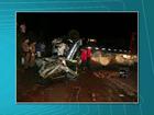 Cinco morrem e três ficam feridos em acidente em rodovia do oeste do PR