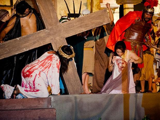 Paixão de Cristo 2013, em Cuiabá. (Foto: Mayke Toscano/Secom-MT)
