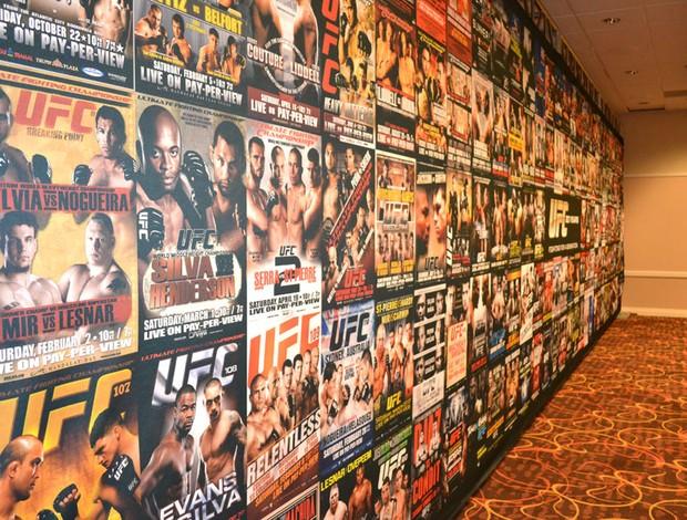 Sala de imprensa UFC 167 (Foto: Ivan Raupp)