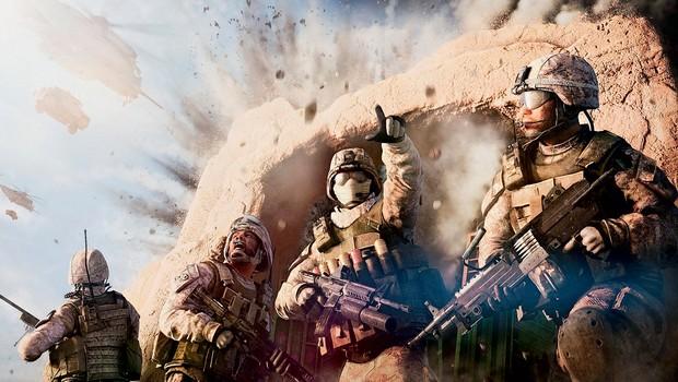 GAME OVER Cena do game Medal of honor: warfighter. Lançado em outubro  de 2012, seu fracasso  de vendas levou ao fechamento do estúdio Danger Close, que o desenvolveu, em 2013 (Foto: Divulgação)
