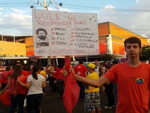 João Matheus Ferreira Nunes, 19 anos, estudante de direito (Foto: Fernanda Resende/G1)