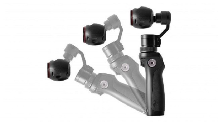 Motor no bastão permite que câmera fique fixada em um ponto (Foto: Divulgação/DJI)