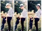 Top Karolina Kurkova confirma que está grávida do segundo filho