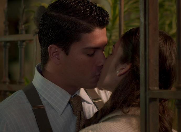 Empregado, Osório já pdoe se casar com Gerusa (Foto: TV Globo)