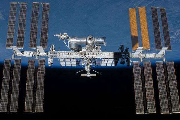 Imagem da Nasa de 2011 mostra a Estação Espacial Internacional (Foto: Divulgação/Nasa)