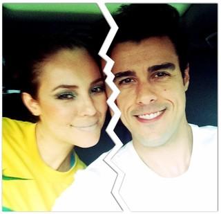 Paola Oliveira e Joaquim Lopes (Foto: Reprodução/Instagram)