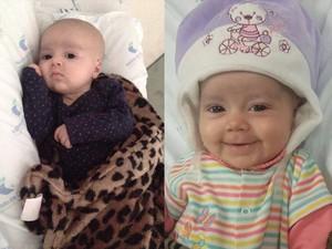 Gabriela Silva Gabi Ituiutaba família leucemia criança tratamento São Paulo (Foto: Geliel Gomes/ Arquivo Pessoal)