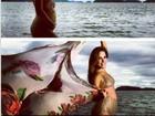 Zezé di Camargo posta fotos de Wanessa grávida: ' Amo sem medida'