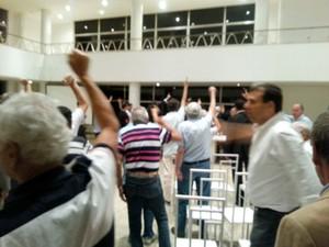 reunião de Conselho Deliberativo do Vasco (Foto: Raphael Zarko)