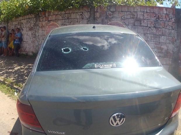 Perseguição acaba com um bandido morto (Foto: TV Verdes Mares/Reprodução)