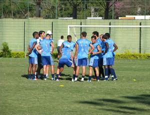 São Bento treino (Foto: Rafaela Gonçalves / GLOBOESPORTE.COM)