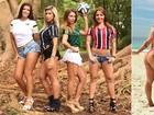 Torcedoras de times de São Paulo e do Rio 'batem bola' antes de estaduais