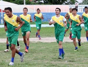 Treino do Sport Campina (Foto: Magnus Menezes / Jornal da Paraíba)
