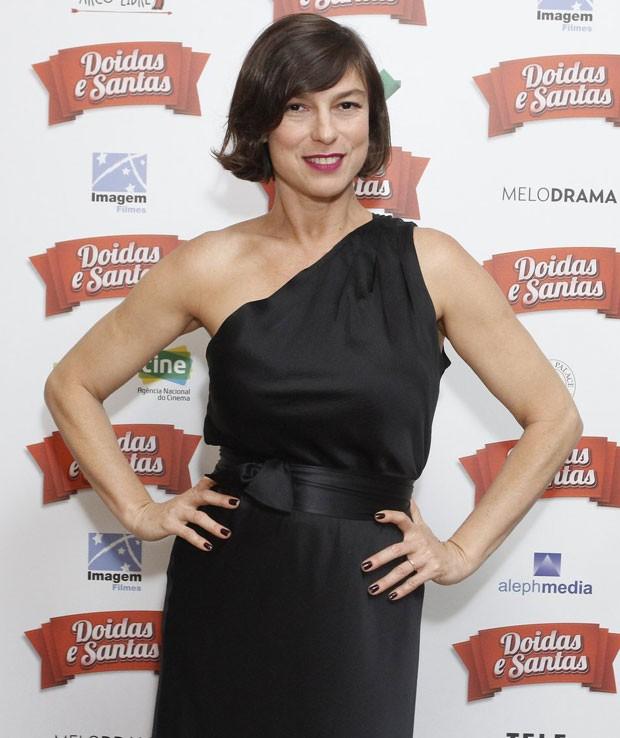 Maria Paula na pré-estreia do filme no Rio (Foto: AgNews / Wallace Faria)