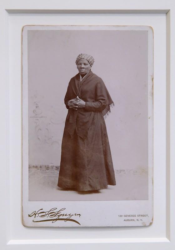 Foto de Harriet Tubman, por volta de 1885, adquirida pelo museu Smithsonian, em Washington D.C. (Foto: Chip Somodevilla/Getty Images)