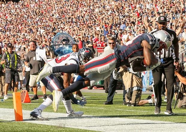 Partida do New England Patriots contra o Houston Texans, disputada no último domingo (24) (Foto: Getty Images)