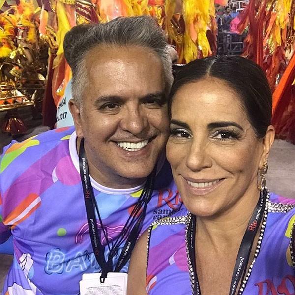Gloria Pires e Orlando Morais (Foto: Reprodução/Instagram)