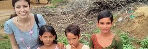 Brasileira vai à Índia para conhecer ensino (Arquivo pessoal)