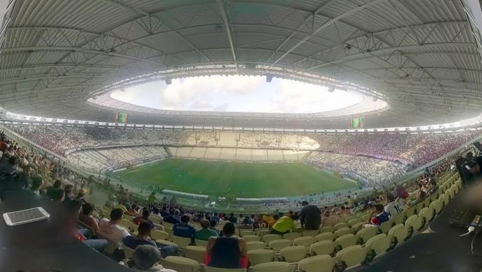 Arena Castelão, Castelão, Clássico-Rei, Fortaleza, Ceará (Foto: Juscelino Filho)