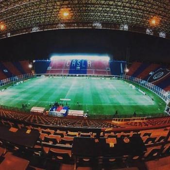 estádio nuevo gasometro (Foto: Diego Ribeiro)
