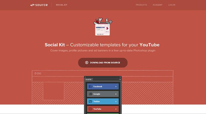 Homepage do site do plugin Social Kit (foto: Repodução/ Lu Fávero)