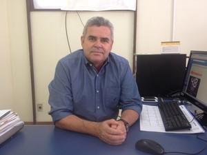 Fábio Vilarinho, superintendente do Dnit no Amapá (Foto: John Pacheco/G1)