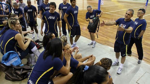Campinas se prepara de olho no Osasco (Foto: Felipe Christ/Amil/Divulgação)