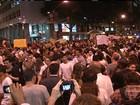 Cem mil pessoas participam de protesto pacífico no Rio de Janeiro