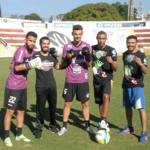 Jogadores XV de Piracicaba Nhô Quim Lutadores (Foto: Evandro Pelligrinotti / XV de Piracicaba)