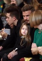 Filha de Victoria e David Beckham, Harper, rouba a cena no NYFW