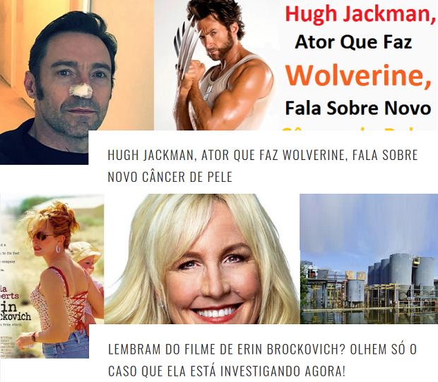 Blog tem histórias de luta contra o câncer de artistas famosos (Foto: Reprodução/Blog Viver eu quero)
