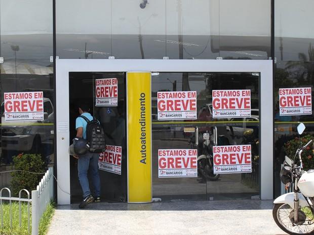 Greve dos bancários prejudica serviços em agências do Piauí