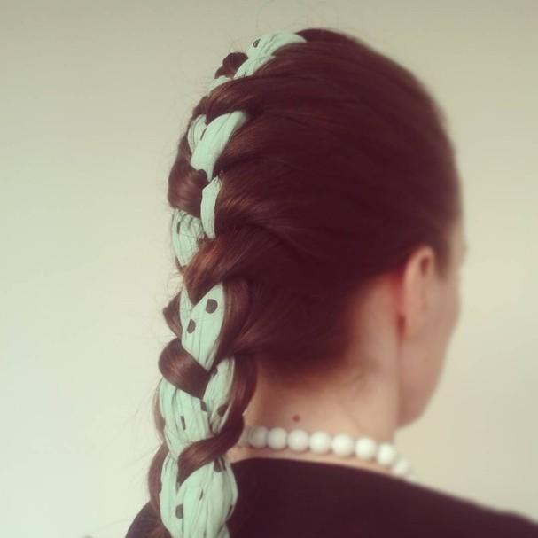 Scarf braids (Foto: Reprodução/Instagram)