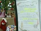 Voluntários devem se apressar para buscar cartas de Natal nos Correios