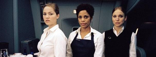 Aeromoças não gostaram da representação de sua profissão no filme (Foto: divulgação)