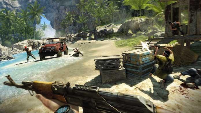Fary Cry 3 é um dos jogos em promoção na Xbox Live (Foto: Divulgação/Ubisoft)